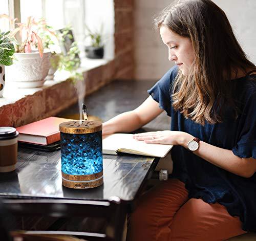 AIGOCEER Himalayan Salt Lamp Diffuser
