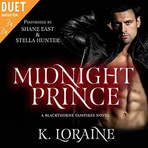 Page de couverture de Midnight Prince: Blackthorne Bloodlines #1 (The Blackthorne Vampires)