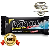 Anderson Proshock - 24 Barrette Proteiche da 60 g con 21g di Proteine Whey e 8 Vitamine - ...