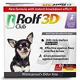 Rolf Club 3D FLEA Collar for Dogs – Flea and Tick Prevention for Dogs – Dog Flea and Tick Control for 6 Months – Safe Tick Repellent – Waterproof Tick Treatment