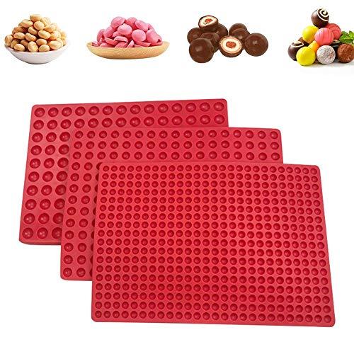 basisago Moules en Silicone pour Bonbons et Chocolats Silicone Candy Chocolat Forme,Antiadhésif Moules de Cuisson pour Mini Muffins, Bonbons et chocolats