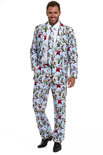 New Stag Do Christmas Xmas 2018 Suit Fancy Dress Stand Out Costume