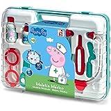 Chicos Peppa Pig Maletín Médico de Juguete. Juego de imitación para niños. Incluye 10 Accesorios. +3 años. (Fábrica 87020)