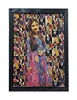 This photo frame is of without glass Size - 14 x 20 inches Colour - Multicolour
