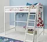 Noa and Nani - Texas High Sleeper Kids Cabin Bed - (White)