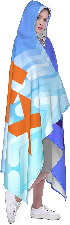 FedEx Hooded Blanket Super Soft Wrap Hoodie Cape Warm online online shop shop