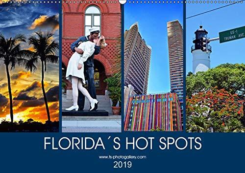 Florida Spots II (Wandkalender 2019 DIN A2 quer): Orte, die man gesehen haben muß in Florida (Monatskalender, 14 Seiten ) (CALVENDO Orte)