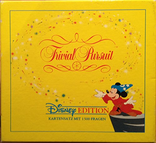 Trivial Pursuit Disney Edition Kartensatz mit 1500 Fragen.