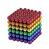 ZDQG Buck Ball, 512 Piezas de imanes Multicolores de 5 mm, Juguetes de Bricolaje, Bloques magnéticos, Bloques de construcción para el Aprendizaje del Desarrollo