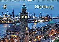 Hamburg (Wandkalender 2022 DIN A3 quer): Eine fotografische Reise durch das abendliche Hamburg (Monatskalender, 14 Seiten )