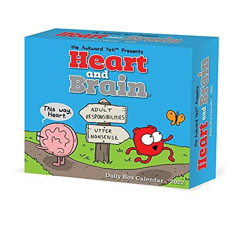 Heart & Brain by the Awkward Yeti 2022 Box Calendar, Daily Desktop