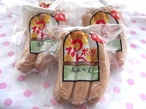ウイルスフリーポークを手作りウインナーフランソルト3本×6袋(冷凍にて配送)
