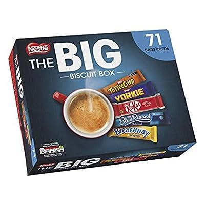 nestlé the big biscuit box 71 chocolate biscuit bars NESTLE The Big Biscuit Box, Chocolate Biscuit Bars x71 51o Zc88R7L