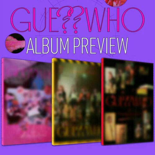 ITZY [GUESS WHO] Album [ DAY + NIGHT + DAY & NIGHT ] 3VER FULL SET. 3CD+1p FOPLDED POSTER+3 Photo Book(each 72p)+6 Photo Card +3 Mini Folding Poster(On pack)+etc K-POP SEALED+TRACKING NUMBER