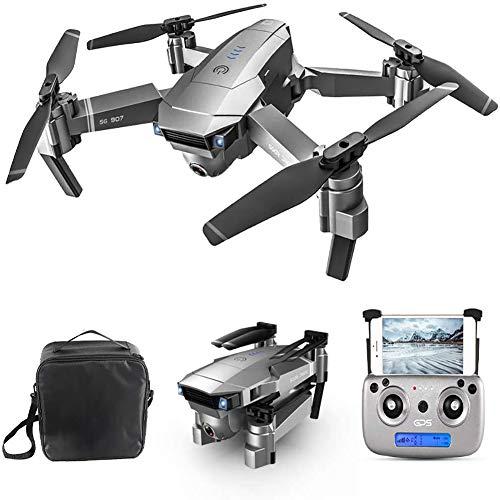 GPS Drohne mit 4k HD Kamera,5G WiFi FPV Live Übertragung,500M Reichweite,120°Weitwinkel,Follow-Me,App-Steuerung,18 Minuten Flugzeit,RC Quadrocopter Faltdrohne für Anfänger,1 Battery