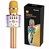 TRAELY Toys for Girls 5-12 Years Old Kids Karaoke Microphone Wireless Bluetooth...