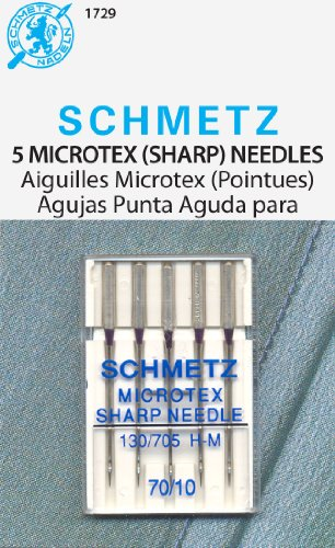 SCHMETZ Sharp Machine Needles (Size 10/70) - 5 per Package