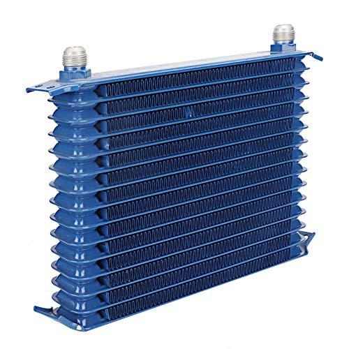 Changor Air-con condensatore Stabile, 300 x 90 x 50mm in Lega di Alluminio Realizzata 300 x 180 x 50mm 300 x 21 x 50mm (Blu)