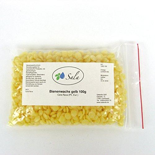 Sala Bienenwachs Pastillen gelb pharmazeutische Qualität 100 g