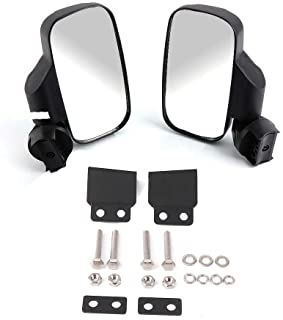 Ranger 570 900 XP Side View Mirrors for UTV with Lock and Ride Cab System/Heavy Duty Large Size KEMIMOTO Rear View Mirrors for Polaris Ranger 570 900 XP
