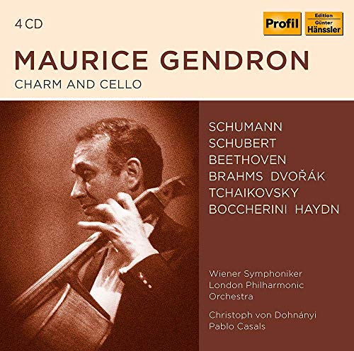 Charm & Cello/Maurice Gendron