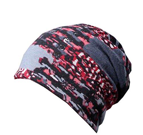 Black Temptation Double Usage Red Cotton Velvet Hat Ski Outdoor Windproof Bonnet