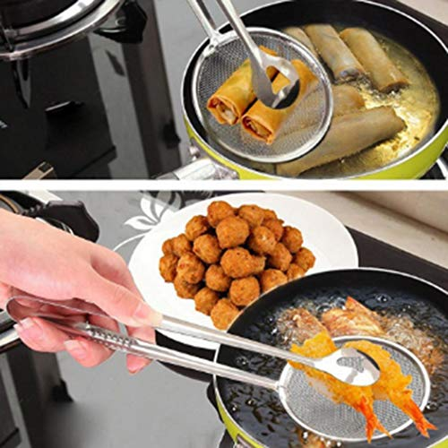 Asatr Kitchen Multi-functional Filter Spoon with Clip Food Outdoor Cooking Tools & Accessories