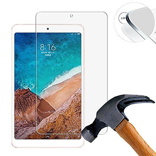Lusee 2 Stück Schutzfolie für Xiaomi Mipad 4 / Mi Pad 4 8.0 Tablet [9H Festigkeit] Bildschirmschutzfolie HD Schutzfolie [Anti Kratzer] [Anti Fingerabdruck] 2.5D Panzerfolie