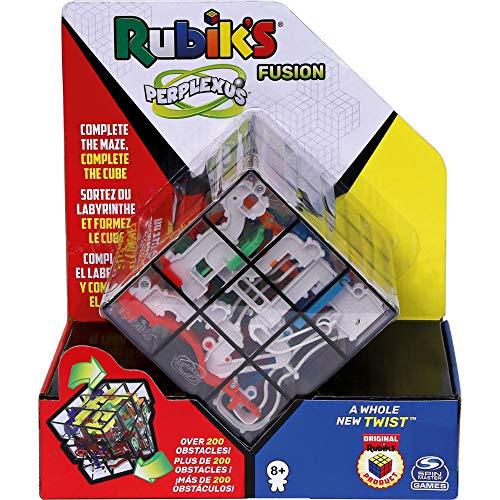 Spin Master Games Rubik\'s Perplexus Fusion - Kugellabyrinth im 3x3 Zauberwürfel