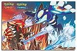 Pokemon- Groudon & Kyogre Poster 36 x 24in