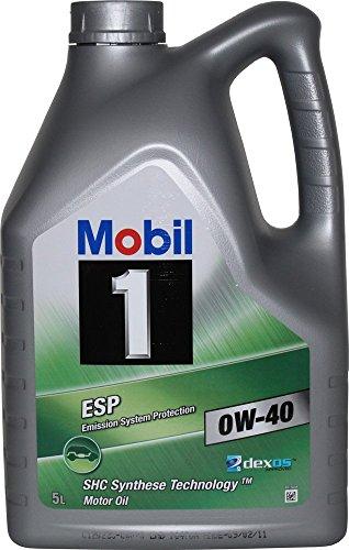 Mobil 151496 Motoröl ESP 0W-40, 5 L