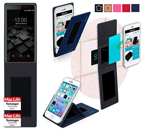 reboon Hülle für UMi Fair Tasche Cover Case Bumper | Blau | Testsieger