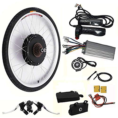 Kit de conversión para bicicleta eléctrica de 26 pulgadas, 48 V, 1000...