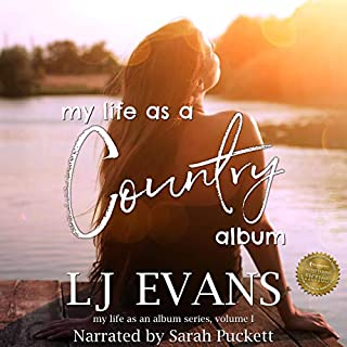 my life as a country album cover art