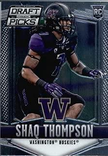2015 Panini Prizm Draft Picks Football Rookie Card #141 Shaq Thompson
