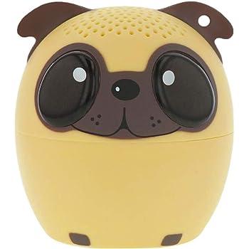 New in Box Cute White Pug Dog LMNT Pug Life Desktop Bluetooth Speaker