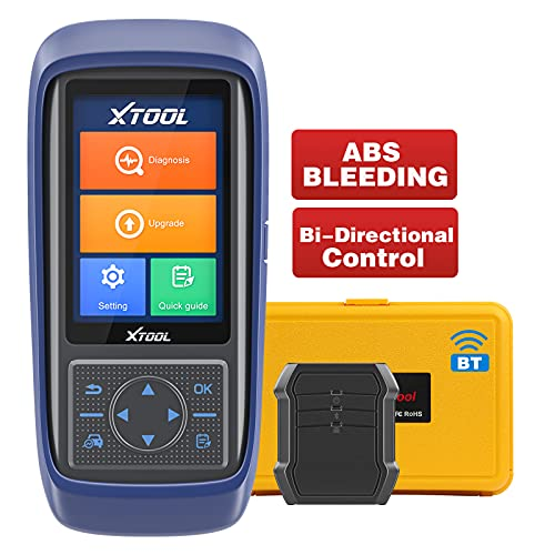 XTOOL A30 Pro Bi-Directional Scan Tool (2021 Newest), Wireless Car Diagnostic Scanner with All...