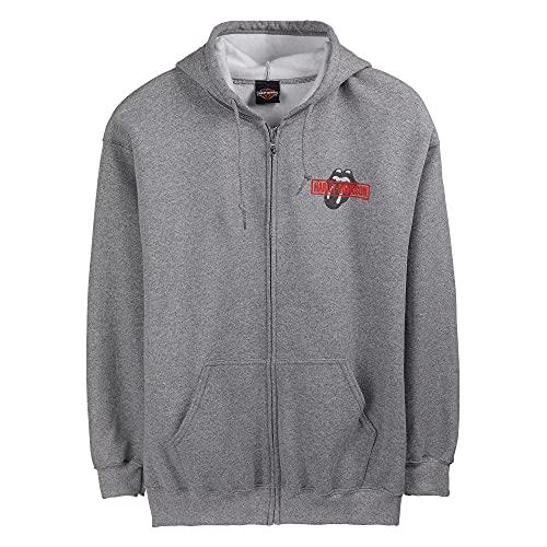 HARLEY-DAVIDSON Rolling Stones Kapuzen Sweatshirt Jacke Mash mit Zipper, XL