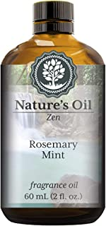Rosemary Mint Fragrance Oil (60ml) For Diffusers, Soap Making, Candles, Lotion, Home Scents, Linen Spray, Bath Bombs, Slime