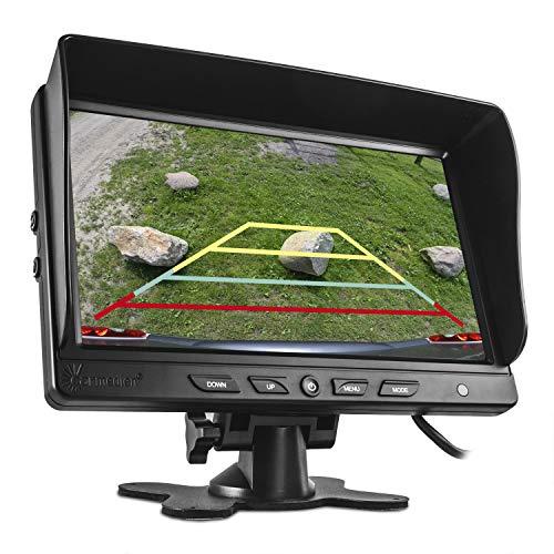 """Carmedien cm-NMR9 9\"""" TFT Monitor für Rückfahrkamera 12V 24V Auto-Display 9 Zoll Bildschirm LED Standmonitor Rückfahrsystem"""