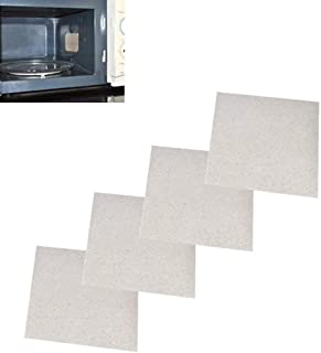 Leoie Basic Thicken Insulation Mica Sheets for Microwave Oven Repairing (13 X 13 cm) -4 Pieces/Set