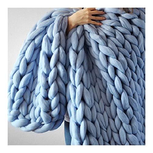 Chunky Kabel Knit Gooi Deken, Handgemaakte Oversized Comforter Stoel Sofa Pad Kussen Mat Keuken Pad Huisdier Bed Baby Tapijt A