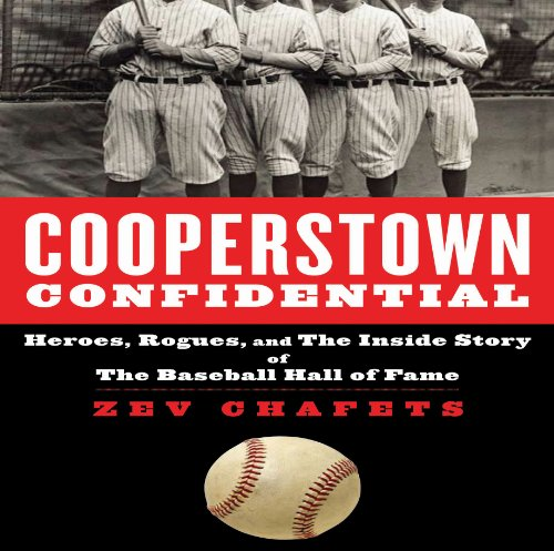 Cooperstown Confidential audiobook cover art