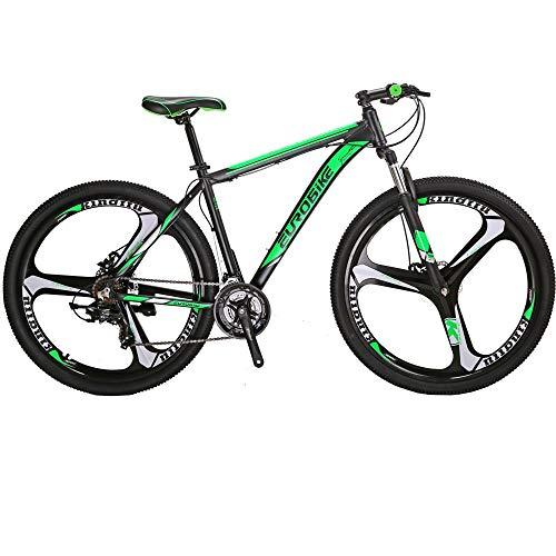 Eurobike 29 inch 3 Spoke Wheel Mountain Bicycles X9 (green)