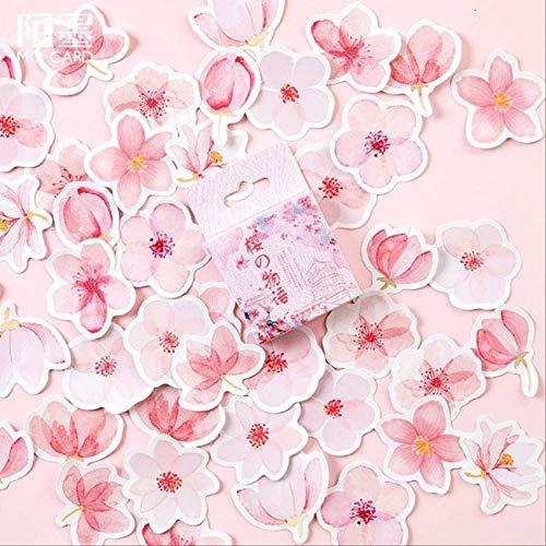 JIANGGUOMIN 45 stuks/doos Japanse View Label Stickers Set Decoratieve schrijfwaren Sticker Scrapbooking DIY dagboek album Stick Label H