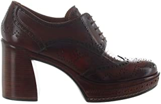 Pons quintana Luxury Fashion Womens 8078005BROWN Brown Lace-Up Shoes | Fall Winter 19