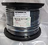 Belden 1694A RG-6/U Coaxial Cable for Audio and Video 18 AWG Copper Conductor 75 Ohm 500 ft