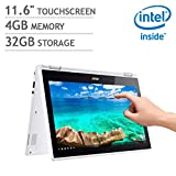 2018 Newest Acer R11 11.6' Convertible HD IPS Touchscreen Chromebook,...