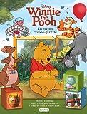 Winnie The Pooh. Livro De Cartão Com Cubos-Puzzle