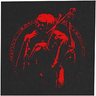 Death as a Musician Back Patch - Baphomet Demonic Devil Dragon Evil Goat Skull Goat`s Head Gothic Metal Occult Punk Satan ...